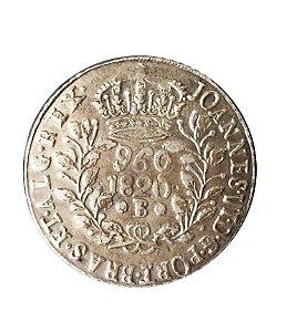 Moeda Antiga do Brasil 960 Réis 1820B