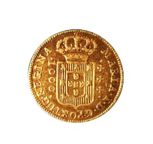 Moeda Antiga do Brasil 1000 Réis 1787