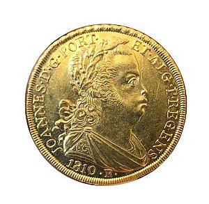 Moeda Antiga do Brasil 6400 Réis 1810 R