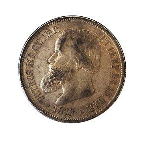 Moeda Antiga do Brasil 1000 Réis 1876