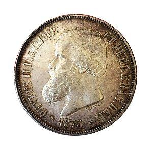 Moeda Antiga do Brasil 2000 Réis 1875