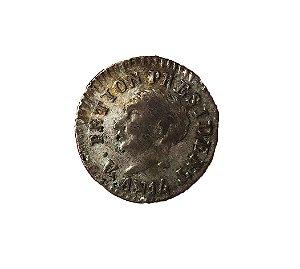 Moeda Antiga do Haiti 12 Centimes 1817 AN14 -  Data Única