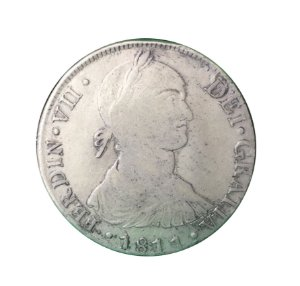 Moeda Antiga do Peru 8 Reales 1811