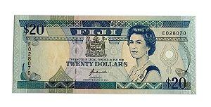 Cédula Antiga de Fiji $20 ND(1992)