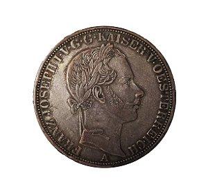 Moeda Antiga da Áustria Thaler 1860 A