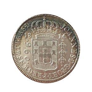 Moeda Antiga do Brasil 960 Réis 1816 B