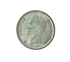 Moeda Antiga da Venezuela 25 Centimos 1954