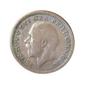 Moeda Antiga da Inglaterra 1 Shilling 1928