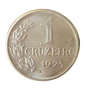 Moeda Antiga do Brasil 1 Cruzeiro 1975