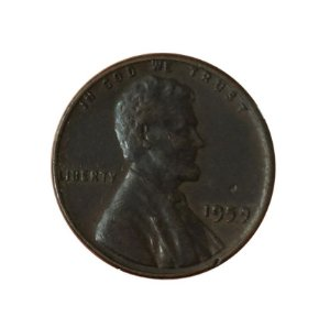 Moeda Antiga dos Estados Unidos One Cent 1959 - Lincoln