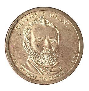 Moeda Antiga dos Estados Unidos $1 2011 - Ulisses S. Grant