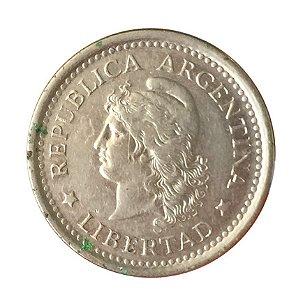 Moeda Antiga da Argentina 1 Peso 1960
