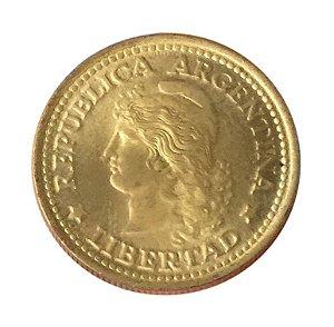 Moeda Antiga da Argentina 50 Centavos 1974