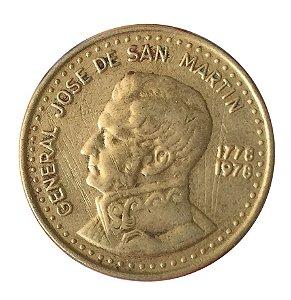 Moeda Antiga da Argentina 100 Pesos 1978