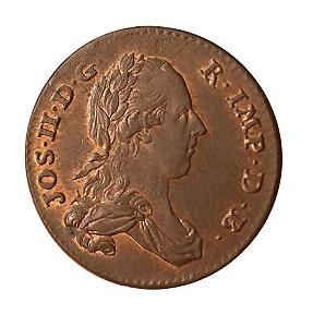 Moeda Antiga da Áustria Holandesa LIARD (DORD) 1789