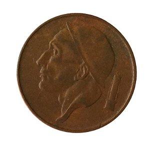 Moeda Antiga da Bélgica 50 Centimes 1953 - BELGIQUE