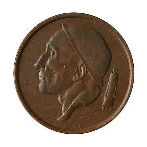 Moeda Antiga da Bélgica 50 Centimes 1956