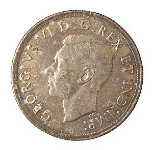 Moeda Antiga do Canadá $1 1939