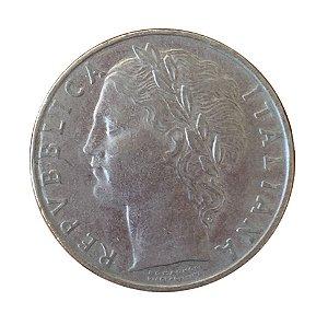 Moeda Antiga da Itália 100 Lire 1956 R