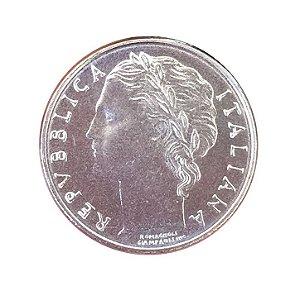 Moeda Antiga da Itália 100 Lire 1990 R