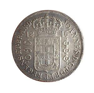Moeda Antiga do Brasil Colônia 960 Réis 1816 R