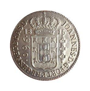 Moeda Antiga do Brasil Colônia 960 Réis 1815 B
