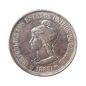 Moeda Antiga do Brasil 500 Réis 1889