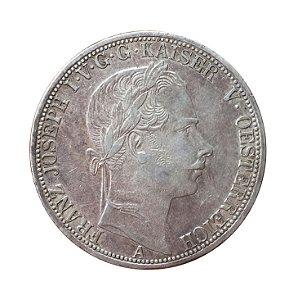 Moeda Antiga da Áustria Thaler 1865 A