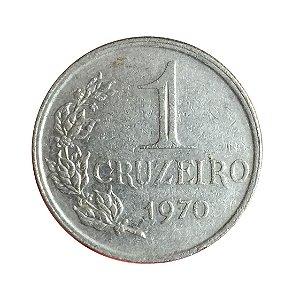 Moeda Antiga do Brasil 1 Cruzeiro 1970