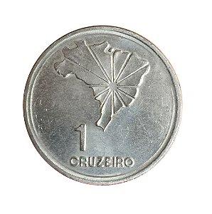 Moeda Antiga do Brasil 1 Cruzeiro 1972 - Sesquicentenário da Independência do Brasil