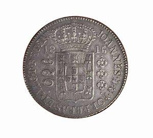 Moeda Antiga do Brasil Colônia 960 Réis 1816 R - Série Especial