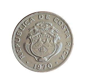 Moeda Antiga da Costa Rica Colon 1970