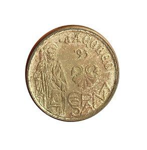 Moeda Antiga da Espanha 5 Pesetas 1993