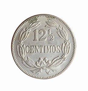Moeda Antiga da Venezuela 12-1/2 Centimos 1948