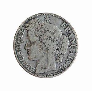Moeda Antiga da França 50 Centimes 1895 A