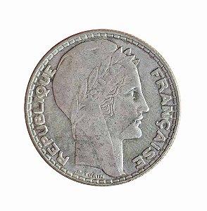 Moeda Antiga da França 10 Francs 1933