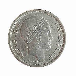 Moeda Antiga da França 10 Francs 1949