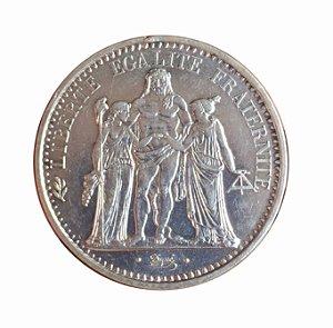Moeda Antiga da França 10 Francs 1965
