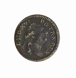 Jeton Antigo da França Reinado de Luís XVI N.D.