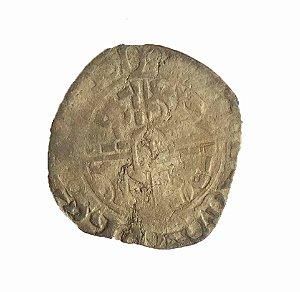 Moeda Antiga da França Double Gros 1419-1467