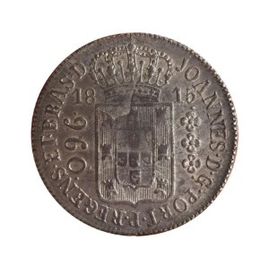 Moeda Antiga do Brasil Colônia 960 Réis 1815 R