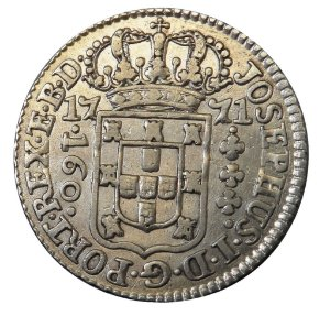 Moeda Antiga do Brasil 160 Réis 1771
