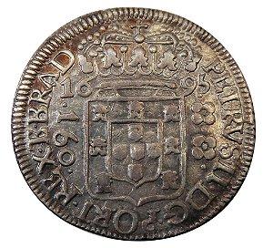 Moeda Antiga do Brasil 160 Réis 1695