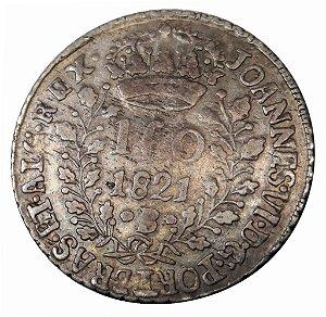Moeda Antiga do Brasil 160 Réis 1821B