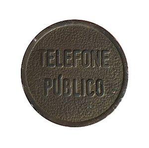 Token Antigo do Brasil - Ficha de Telefone Público da Bahia