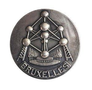 Medalha Antiga da Bélgica 1958 - Atomium