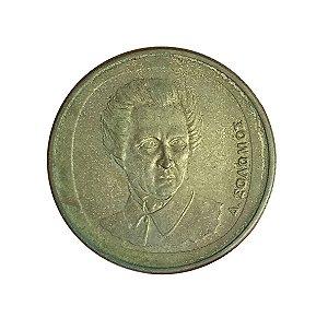 Moeda Antiga da Grécia 20 Drachmes 1990