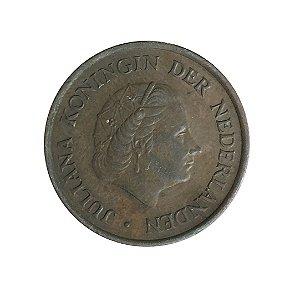 Moeda Antiga da Holanda 5 Cent 1978