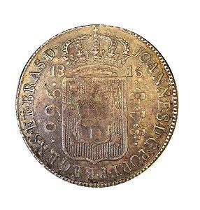 Moeda Antiga do Brasil 960 Réis 1816B