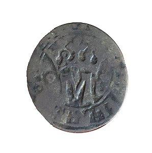 Moeda Antiga de Portugal Vintém N/D (1495-1521) - D. Manuel I